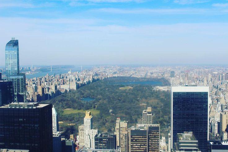 The magnificent Central Park #nyc #newyork #topoftherock #centralpark  #picoftheday #instalike #travel  #irishblogs #nyblogs #ShePrevailsNYC