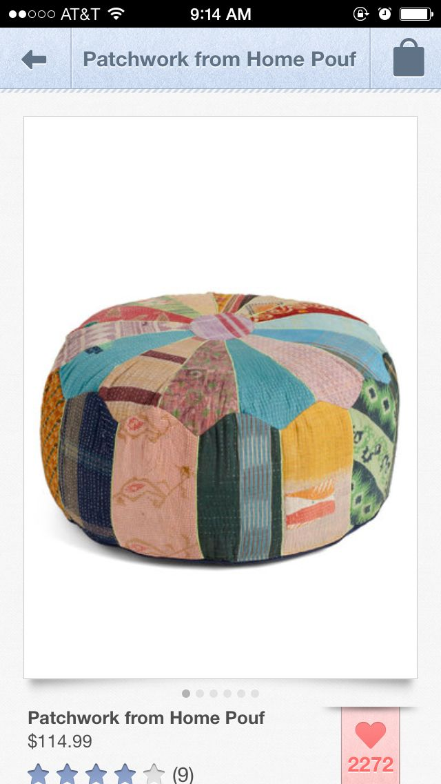 Colorful Pouf Home Amp House Pinterest