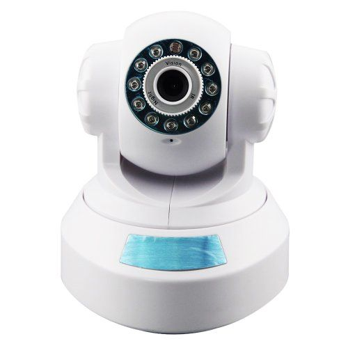 DDNS libre para la visualización remota, con 2-Ways Audio WEP/WPA/WAP2 Pan / tilte Función Día y visión nocturna DB Potencia Lente de 4mm WiFi Indoor Wireless / Wired webcam de Vigilancia de Apoyo de detección de movimiento, control de PT (ángulo horizontal de 270 °, ángulo vertical 120 °) Apoye el protocolo 802.11b/g/n, Construir-en el módulo WiFi para realizar la supervisión inalámbrica B00F2B9R8S - http://www.comprartabletas.es/ddns-libre-para-la-visualizacion-