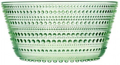 kastehelmi serving bowl, Iittalia.  I love how it looks like funky geometric modern depression glass