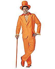 Dumb and Dumber Orange Tuxedo Costume