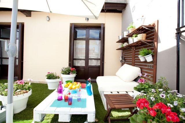 terraza de estilo chill out