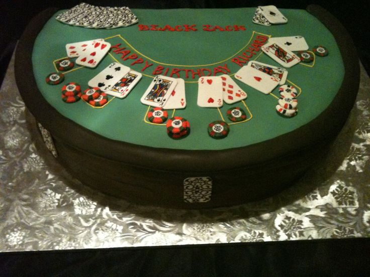 Birthday Cake Poker Table