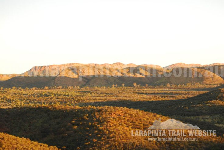 Spectacular sunset views of mountains ranges along Section 1 of the Larapinta Trail. © Explorers Australia Pty Ltd 2013