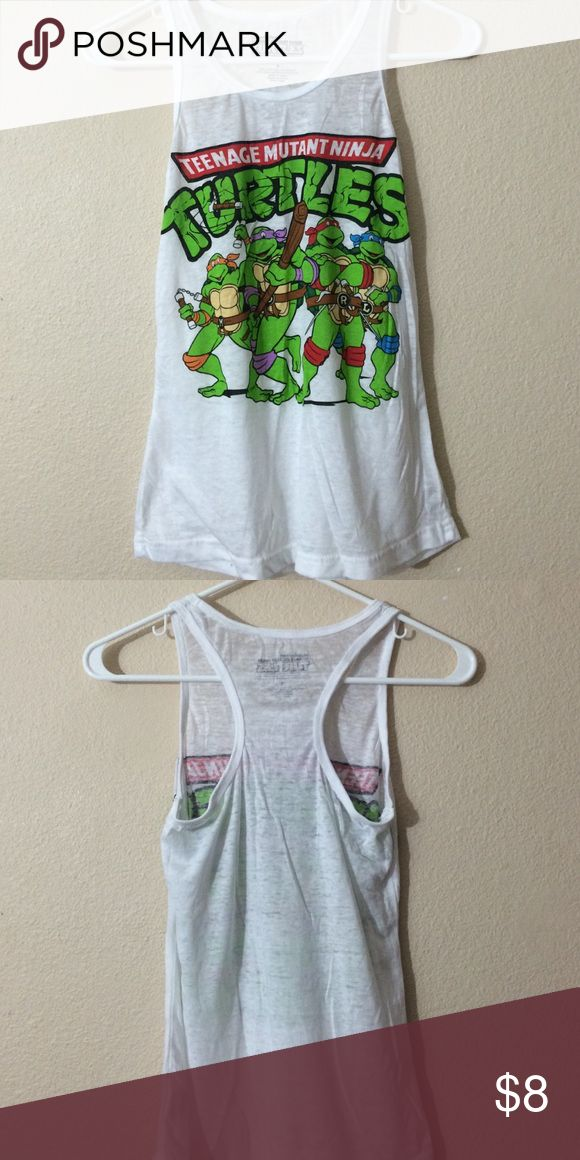 TMNT Muscle Shirt Worn once great condition Rue 21 Tops Muscle Tees