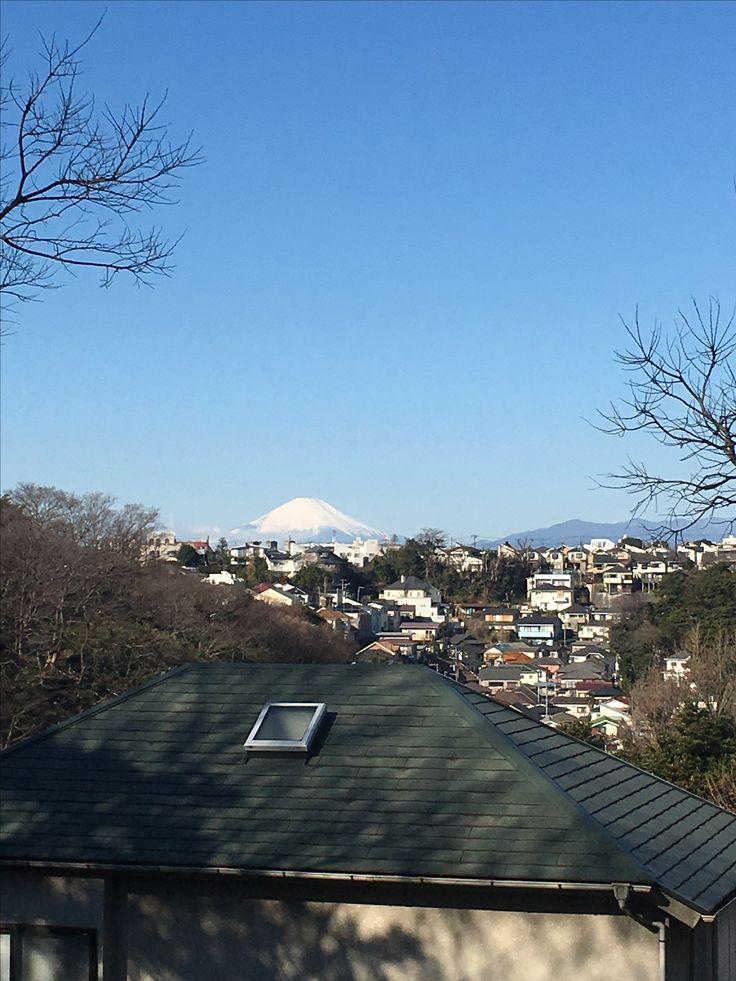 本牧から富士