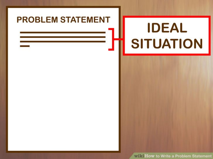 how to write a problem statement apa