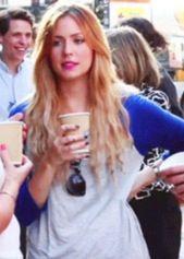 Gemma's Blonde hair