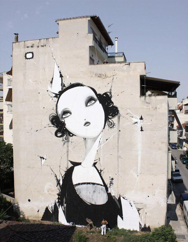 Alexandros Vasmoulakis - Alex tries but misunderstands - acrylic, rhinestone on…