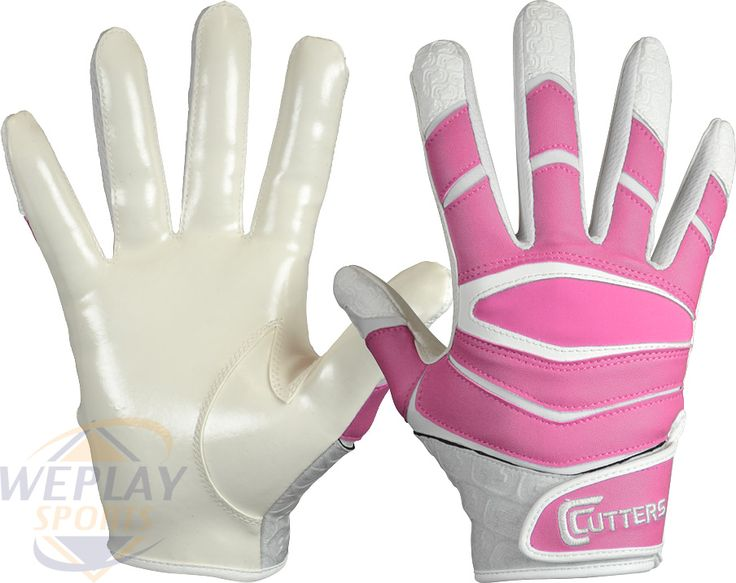 Cutters X40 C-Tack Revolution Pink Football Gloves