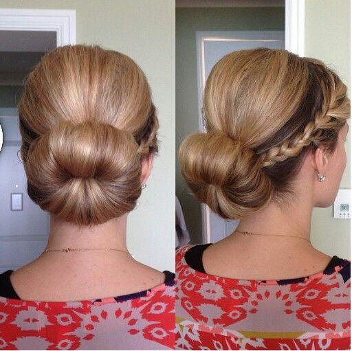 Sensational 1000 Ideas About Low Sock Buns On Pinterest Sock Buns Brown Hairstyles For Women Draintrainus
