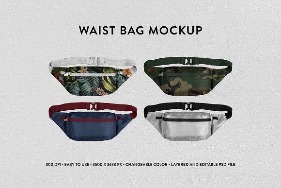 Download Waist Bag Mockup Psd Mockup Template Bag Mockup Waist Bag