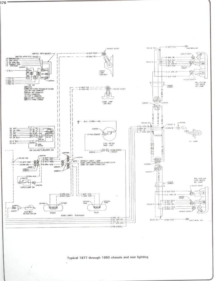 1977 chevy blazer wiring diagram 77-80_chass_rr_light.jpg (1492×1951) | jsdjdnrn | pinterest
