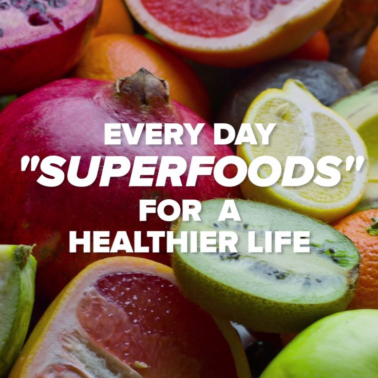 Everyday Super Foods For A Longer Life