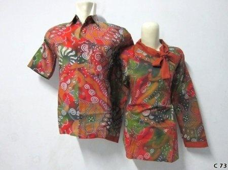 Kemeja Batik C73 | IDR 120.000 | bahan : Katun | Size M, L, XL | Order : 081333303545