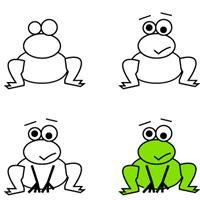kids learn how to draw a frog | crafts creativity…