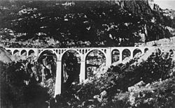 The Varda Viaduct (Turkish: Varda Köprüsü) is a railway viaduct situated at Hacıkırı (Kıralan) village in Karaisalı district of Adana Province in southern Turkey. This stone arch structure was designed and built by Imperial German engineers as part of the Baghdad Railway. The building of the viaduct was coupled with the construction of the Ottoman-German project of Istanbul-Baghdad railway line to connect Berlin with Basra, then part of the Ottoman Empire, to enable direct supply of oil to…