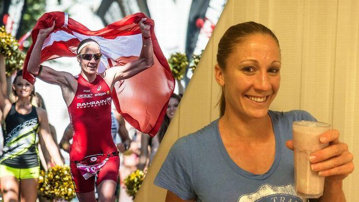 What Athletes Eat: Daniela Ryf's Triathlon-Training Smoothie