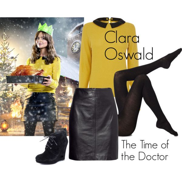 """Clara Oswald - The Time of the Doctor"" by ansleyclaire on Polyvore"