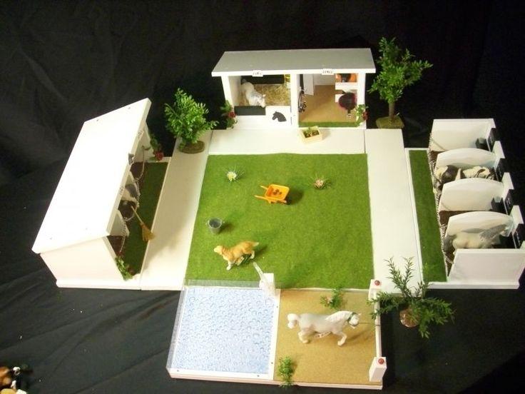 die besten 25 schleich pferdestall ideen auf pinterest schleich pferde mit reiter. Black Bedroom Furniture Sets. Home Design Ideas