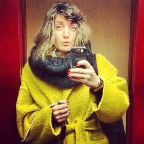 Yellow in winter