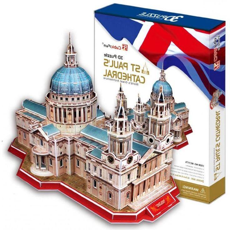CubicFun CubicFun, 3D-пазл Собор Святого Павла (Великобритания)