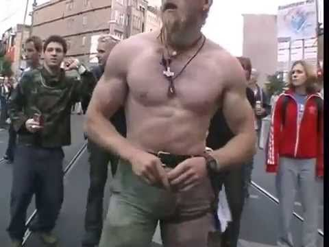 This guy is fucking awesome!! Techno Viking Original BEST HQ - YouTube