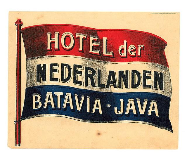 Hotel der nederlanden batavia java