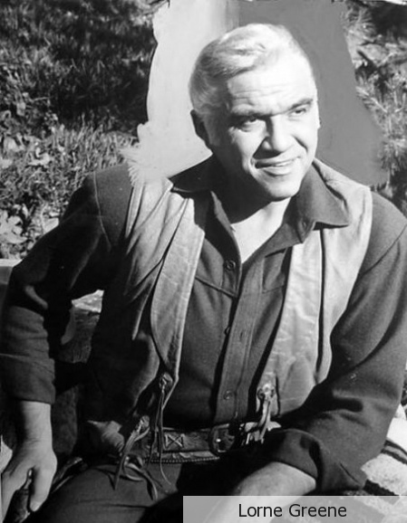 Lorne Green (April 12, 1915 - September 11, 1987) American actor and singer (o.a. as Pa from Bonanza).