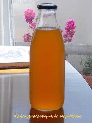 Σπιτική συμπυκνωμένη πορτοκαλάδα ή απλά σιρόπι πορτοκαλιού – Κρήτη: Γαστρονομικός Περίπλους