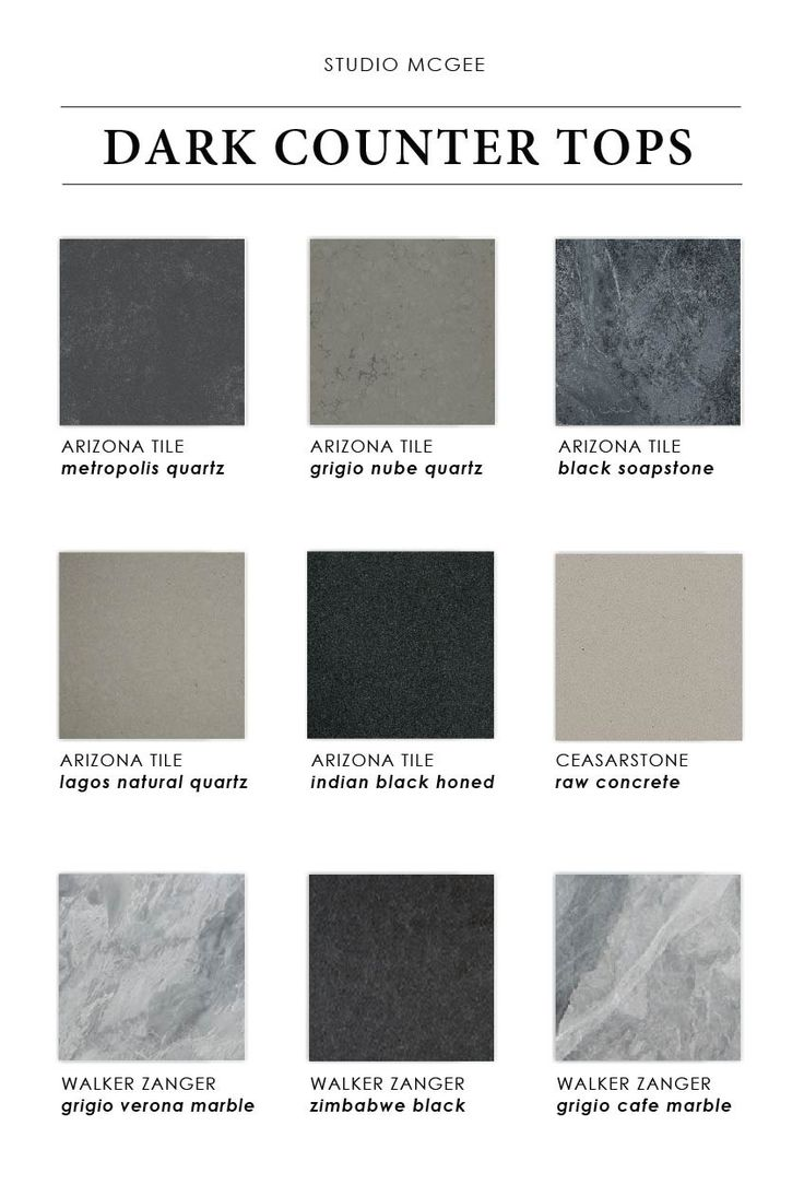 Grigio msi quartz denver shower doors amp denver granite countertops - Our Favorite Dark Countertops