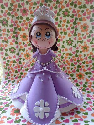 * Fofucha Princesa Sofía *: Mis Fofucha, Goma Eva, Fofucha Dolls, Moldings Para, For All, Princesa Sofía, Muñeca Fofucha, Fofucha Princesa Sofia, Fofucha 3D