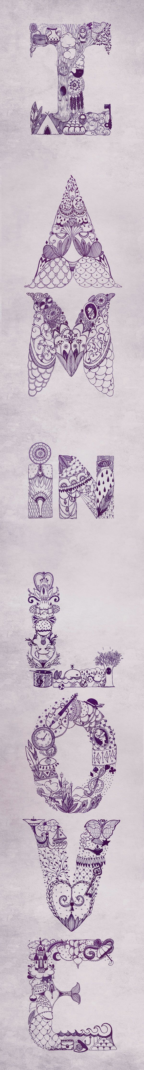 Super Cool Typography Work by Eika Dopludo
