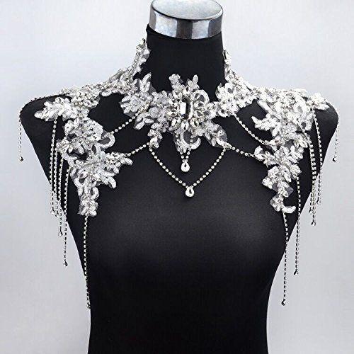 Sunshinesmile® Bride Wedding Crystal Rhinestone Tassel ...