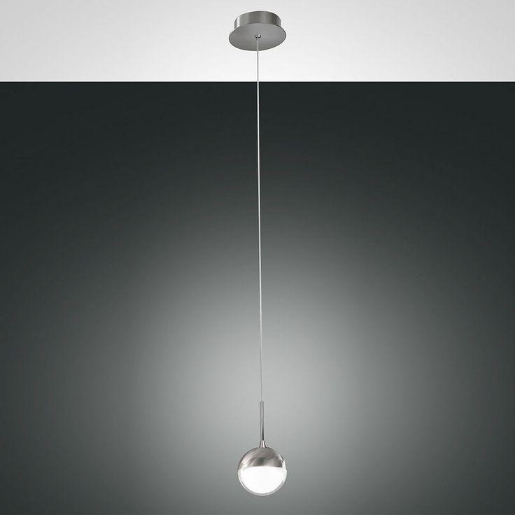 Melville LED Pendelleuchte höhenverstellbar / 700 Lumen / Nickel-Satiniert