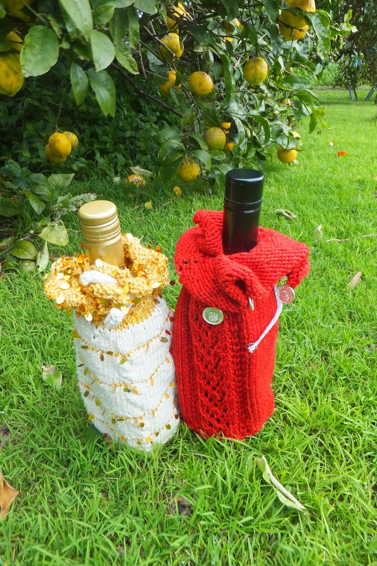 2 entries in the Knitted section.  1. Pinot gris with Golden Highlights  2. Rich Red