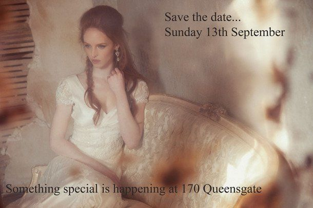 Emma Hunt wedding dress sample sale at London wedding venue 170 Queen's Gate