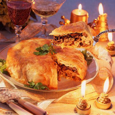 Découvrez la recette Croustade de faisan aux girolles et aux cèpes sur cuisineactuelle.fr.