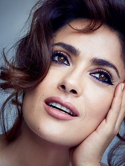 Salma Hayek Allure August 2015 photo shoot -- Salma Hayek on the Worst Beauty Advice She's Ever Heard: For her second Allure cover shoot, the star reveals what makes her marriage work, the one thing she wishes her younger self knew, and the secret to her crazy-youthful appearance.