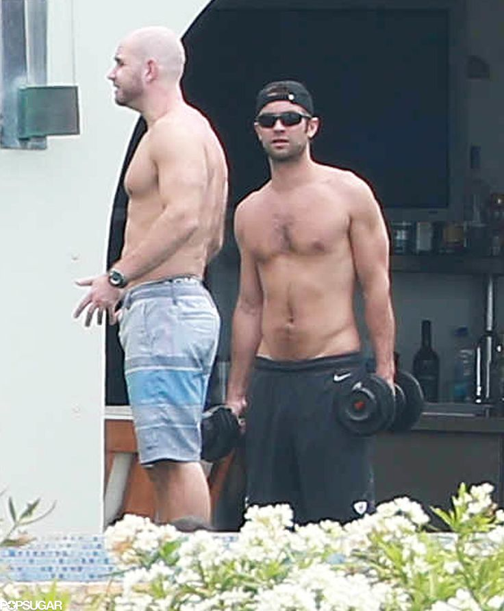 Shirtless Chace Crawford Shows Off His Superhot Body