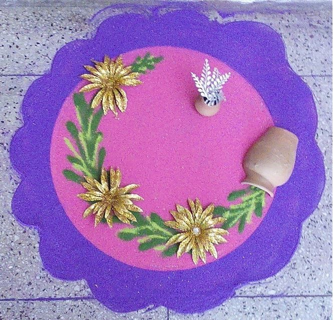 Creative Rangoli Ideas