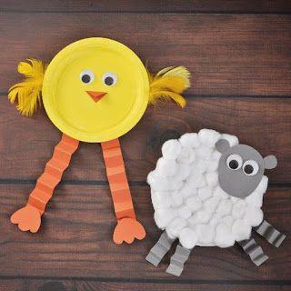 Aprender Brincando: Atividades com pratos de papel para Educação Infantil