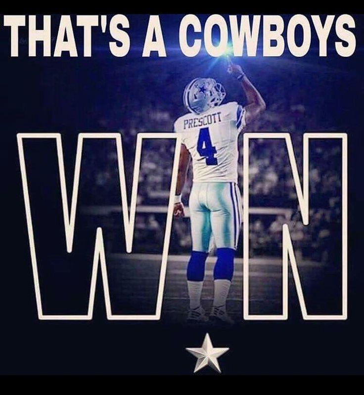 I'm happy you guys win dallas Cowboys yay