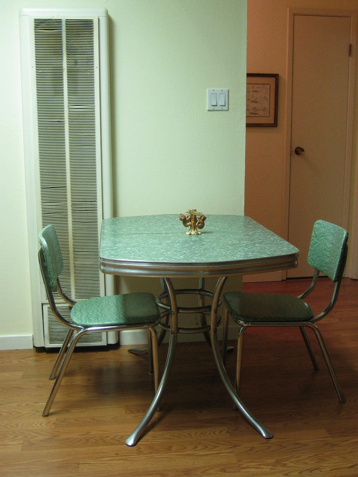 Our *new* Vintage Formica Kitchen Table Bought On Ebay. Part 57