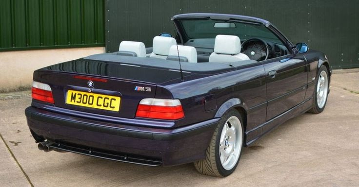 Get It While It's Hot: 1997 BMW M3 Evo Convertible Is A Steal #Auction #BMW