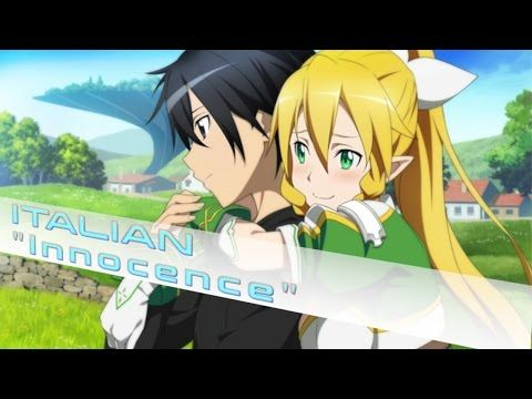 【~Innocence~】Sword Art Online [Opening 2 Custom Instrumental] ~Italian Version~ - YouTube