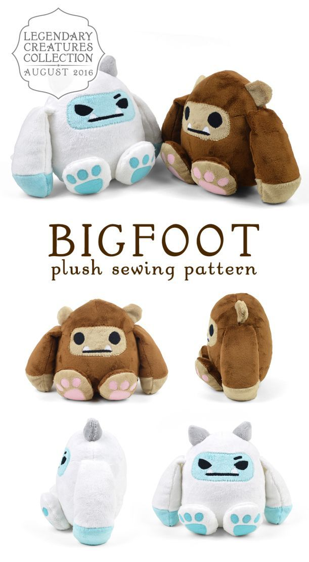 Bigfoot - Pattern by Choly Knight