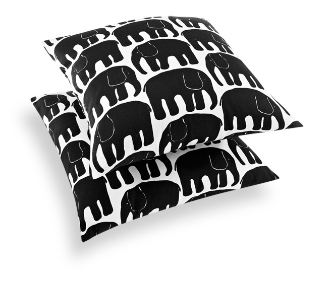 Via Finlayson | Elefantti Pillows