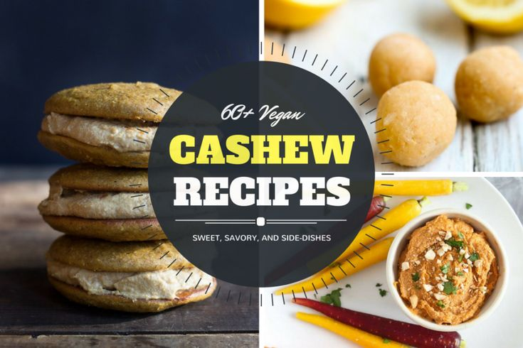 Most don't know of the versatility that cashews have in the vegan kitchen. We're talkin' soups, sandwiches, sauces, dips, and more! Vegan Cashew recipes for everyone!