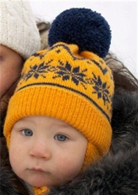 Вязаная шапочка с норвежским узором.... Обсуждение на LiveInternet - Российский Сервис Онлайн-Дневников